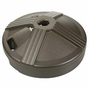 Patio-Parasol-Umbrella-Stand-Base-Plate-Fillable-US-Weight-50-pound-Outdoor-HOT