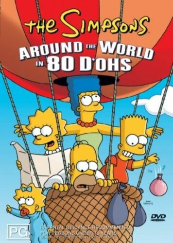 1 of 1 - The Simpsons - Around The World In 80 D'Ohs (DVD, 2006)