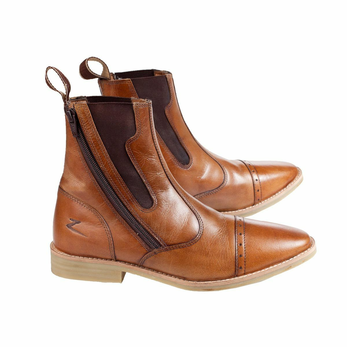 Horze Havanna  Leather Jodhpur Riding Boots with Side Zip Outside Ankle  beautiful