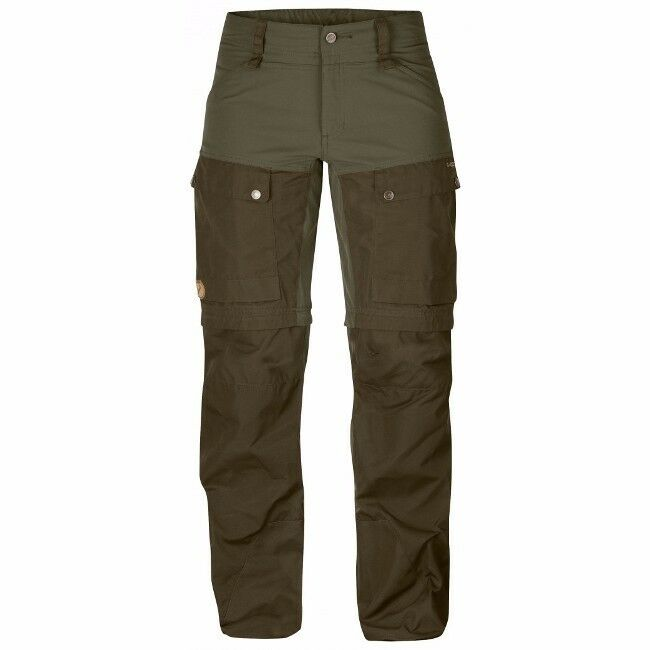 Keb Gaiter Trousers Fjällräven Farbe: tarmac, Gr.:36 Woman