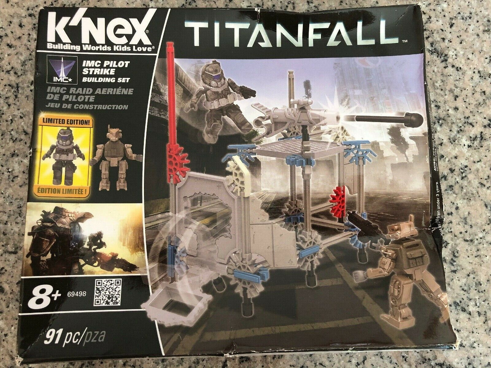 K/'NEX TITANFALL 86pcs IMC Pilot Strike Building set KNEX