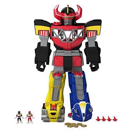 Imaginext Power Rangers Morphing Megazord