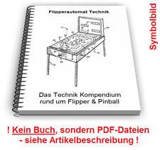Flipperautomat selbst bauen Pinball Automat Flipper Spiel Technik Patente