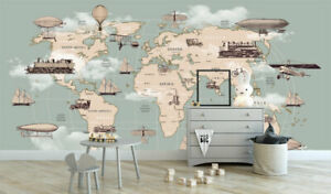 Wall Mural Paper Sticker Decal