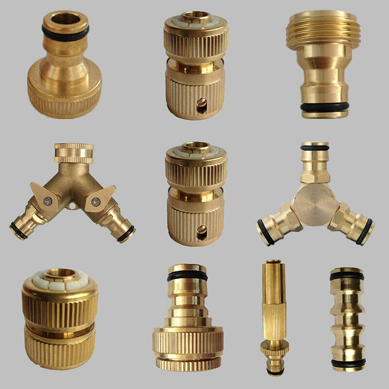 """Brass Tap Adapter Male Outer Thread 3//4/""""replacement For Old Broken Connector"""