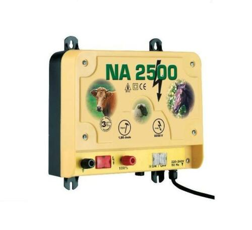 Weidezaungerät na 2500 230 voltios weidegerät adaptador de alimentación corriente dispositivo pradera 44198