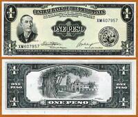 Philippines, 1 Peso (ND) 1949, P-133, UNC