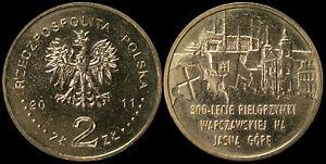 Pologne. 2 Zloty. 2011 (Pièce KM#Y.784 Neuf) Pèlerinage de Varsovie à Jasna Gora