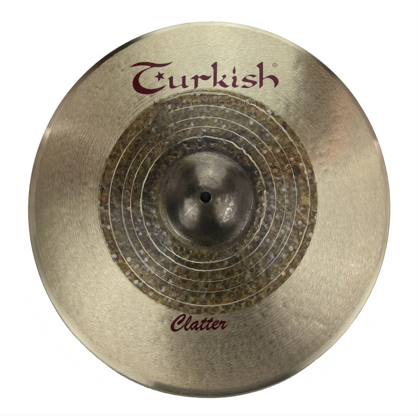 TURKISH CYMBALS cymbale Effect 16  Crash Clatter 991g