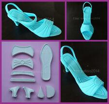 Lady's Shoe, high heel Cutter for Fondant, Gum Paste, Marzipan 9 pcs. set