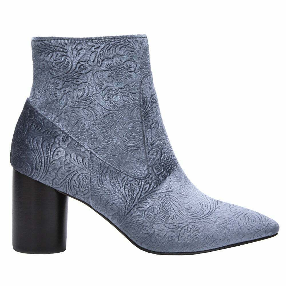 COCONUTS by Matisse Alana Zippered Womens Boots Ankle Mid Heel 2-3