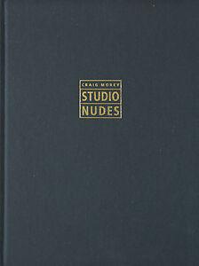 Studio-Nudes-1989-1992-B-amp-W-Art-Photo-Book-Signed-Print-by-Craig-Morey