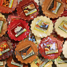Yankee Candle Tart FOOD and SPICE Mix X 10 - FREE P+P