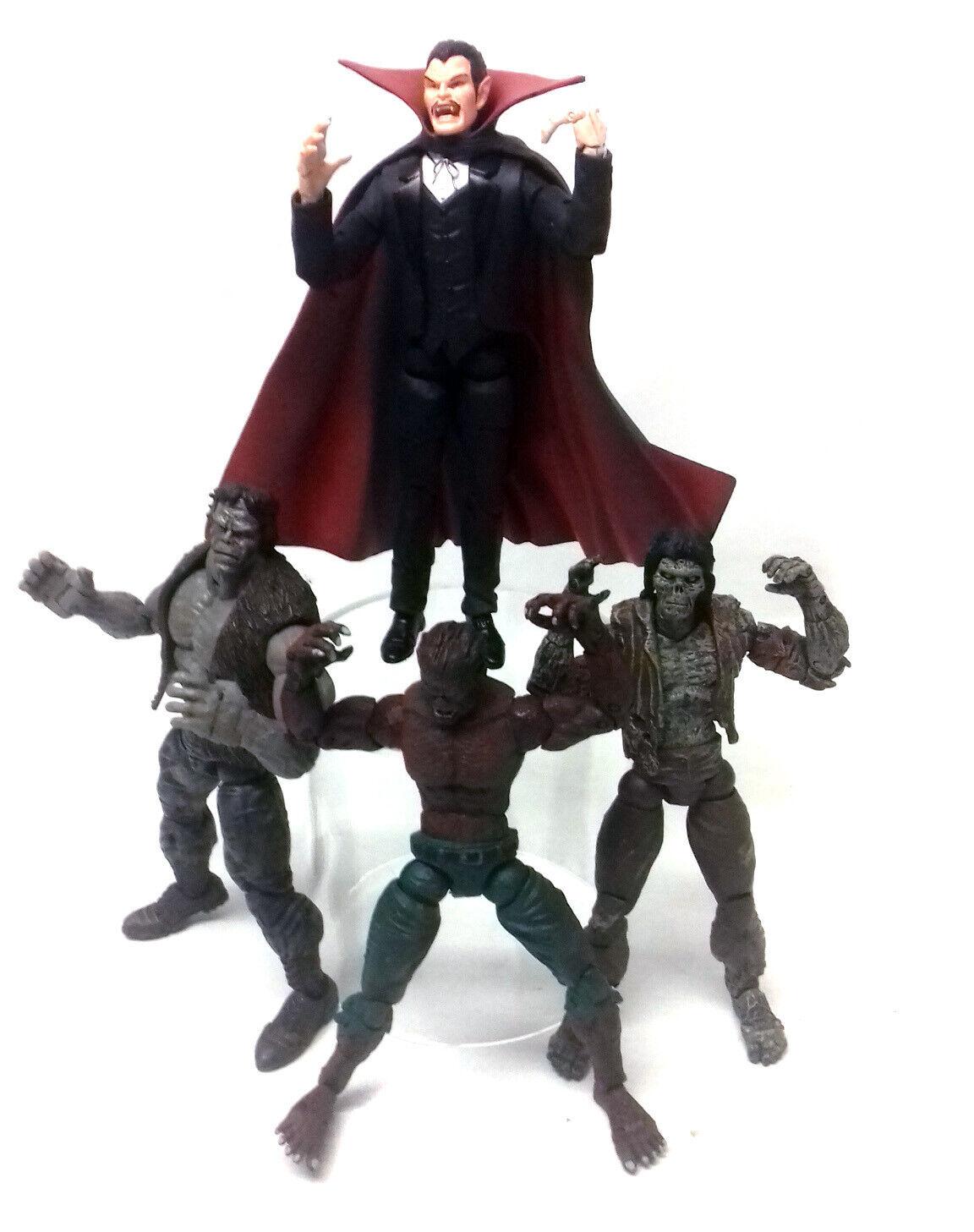 MARVEL Legends DEI MOSTRI-Lupo uomonaro, Dracula,  frankenstein, Zombie cifra Set  vendite online