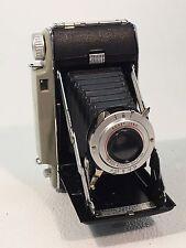 Vintage Kodak Tourist II Folding Camera w/ Vintage Leather Travel Case