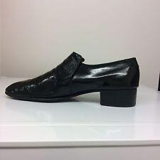 Grenson,size 12EX, High Shine Black Slip on formal Men Shoes