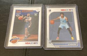 2019-20-Ja-Morant-Base-Zion-Williamson-NBA-Hoops-Tribute-Rookie-Card-RC-Lot