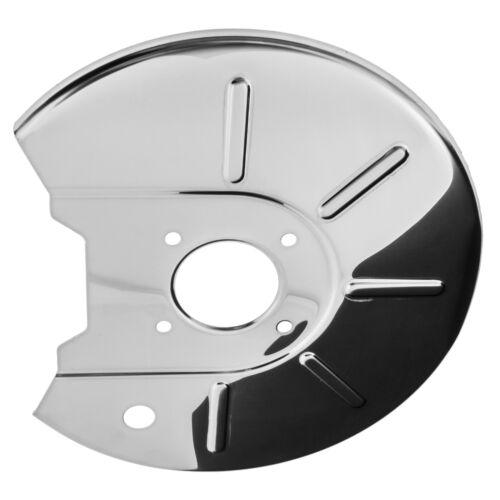 BRAKE DISC BACK PLATE S//STEEL LH MGB MB94SL