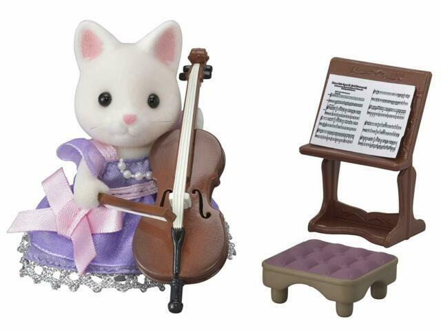 Calico Critters Town Cello Concert Set CC3024 NEW NIB