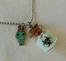 Glow In The Dark Zombie Necklace