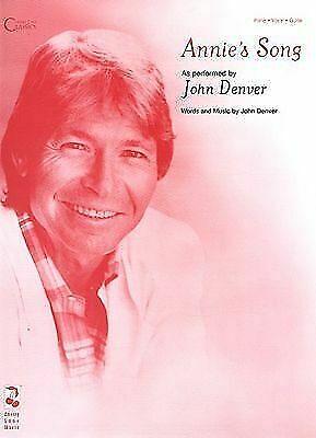 Annie/'s Song Sheet Music Piano Vocal John Denver NEW 002504223