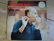 Mahler-Symphony Nr.2-Resurrection-Solti-2er Lp-London Japan