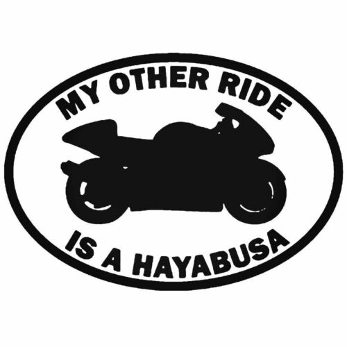 I miei altri Ride è Auto Adesivo Decalcomania Moto Van NINJA BMW HAYABUSA YAMAHA