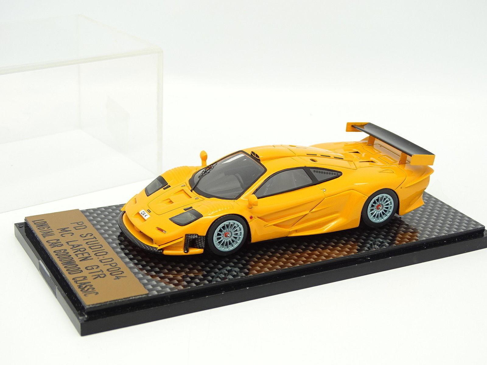 PD Studio 1 43 - McLaren GTR Longtail Goodwood Classic orange