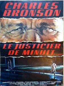 Plakat Kino Le Bürgerwehr De Minuit Charles Bronson - 60 X 40 CM