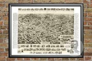 Old-Map-of-Hicksville-NY-from-1925-Vintage-New-York-Art-Historic-Decor