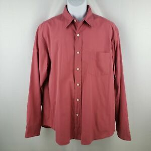 online retailer factory outlets latest discount J. Crew Men's Salmon Pink Button Up Long Sleeve Shirt Size L | eBay