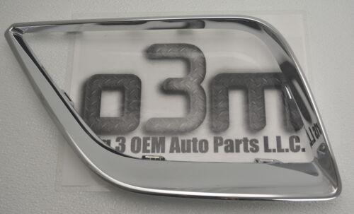 2009-2010 Pontiac G6 Front RH Pass Outer Grille Chrome Bezel new OEM 25877955