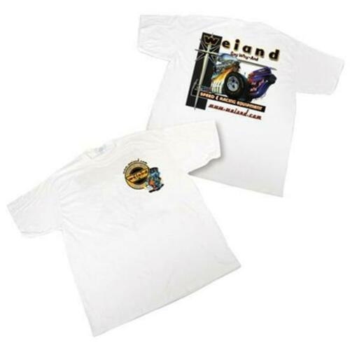Holley Weiand White Retro T-Shirt