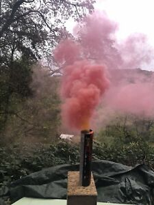 Rauchgranate-Smoke-6x-Mix-Airsoft-Paintball-Bengalo-Rauchfackel-Kein-Fake-Bild