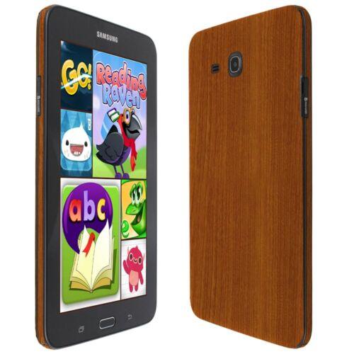 Skinomi Light Wood Skin /& Screen Protector for Samsung Galaxy Tab E Kids