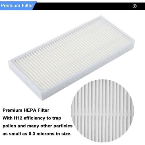 Replacement Filters and Brushes for Ecovacs Deebot N79 N79S DN622 500 N79W NO9I5
