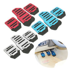 3x Non-slip Car Manual Auto Accelerator Throttle Clutch Brake Foot Pedal Treadle