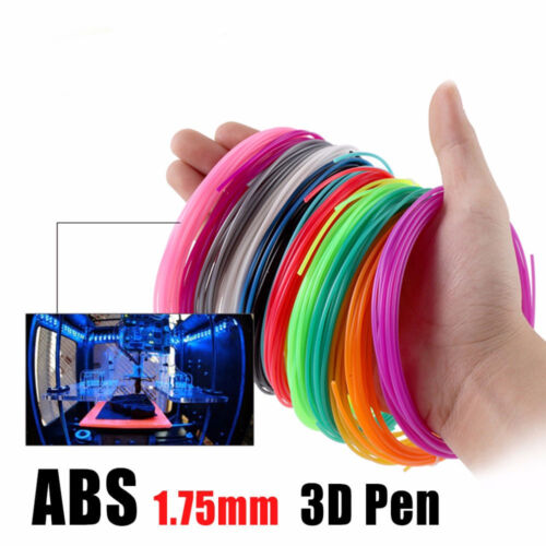 1.75mm Print Filament ABS/PLA Modeling for 3D Drawing Printer Pen 2019 NEW~