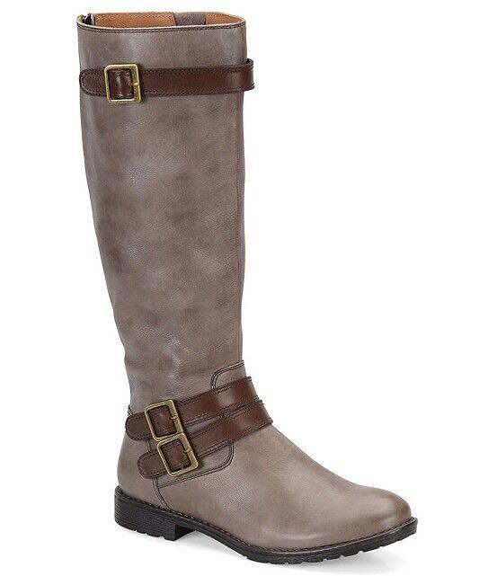 Montana Gavyn tamaño 6.5M gris Cuero botas De De De Montar c7d197