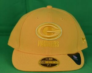 25f598b0 Details about New Era 59Fifty Mens NFL Green Bay Packers Fitted Hat Cap NWT  7 1/8, 75/8, 7 3/4