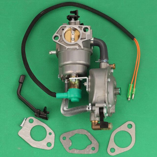 Dual Fuel LPG Carburetor Carb For Champion 100155 100230 100297 Generator 439cc