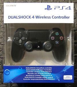 DUALSHOCK 4 PS4 CONTROLLER WIRELESS NUOVO PAD NERO PLAYSTATION 4 V2 JOYSTICK