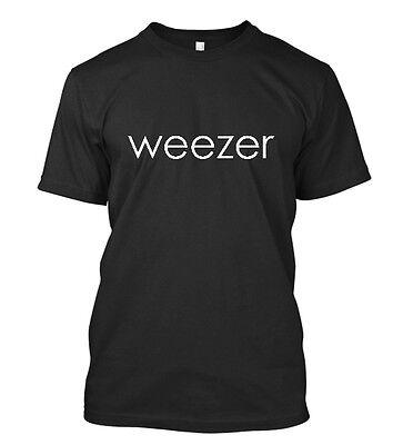 New Weezer Rock Band Concert Tour Men's T-Shirt Size S-5XL