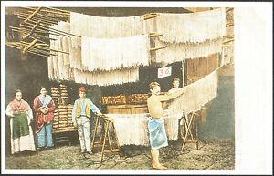 CARTOLINA-UN-PASTIFICIO-A-PALERMO-SICILIA-1903