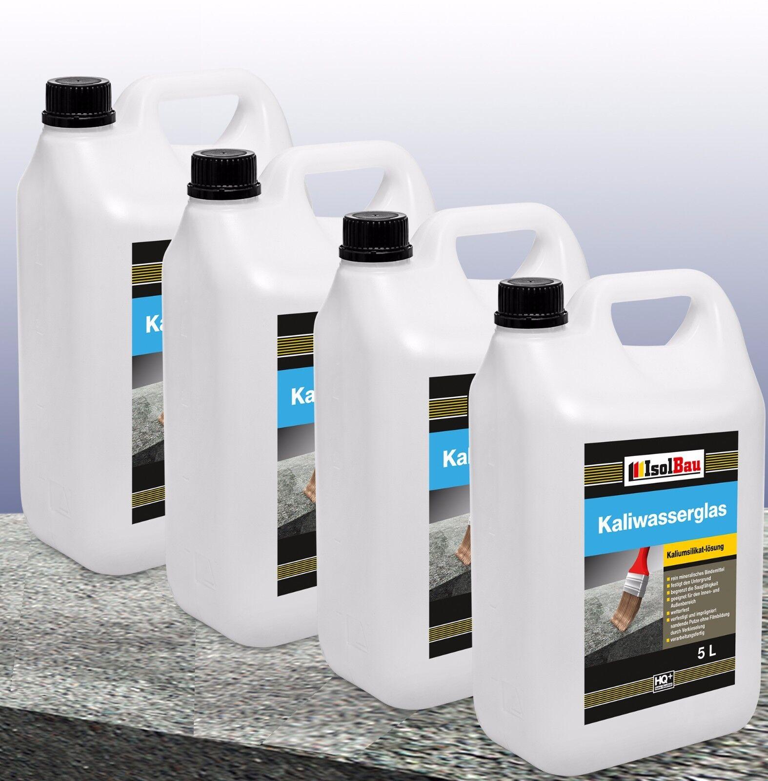 20 Liter Profi Kaliwasserglas Oberflächen Grundierung Konservierung altbewährt