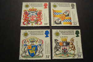 GB-1987-Commemorative-Stamps-Thistle-Very-Fine-Used-Set-ex-fdc-UK-Seller