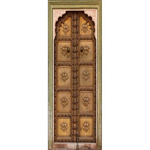 Aufkleber Alte Tür Orientalisch Schein Auge 517