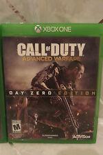 2014 XBOX One Call of Duty Advance Warfare Day Zero Edition COD Complete
