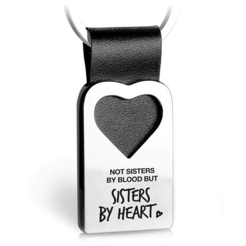 beste Freundin Geschenk Gravur Beste Freundin Schlüsselanhänger Leder mit Herz