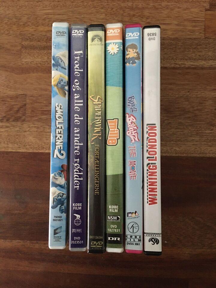 Mange, DVD, familiefilm